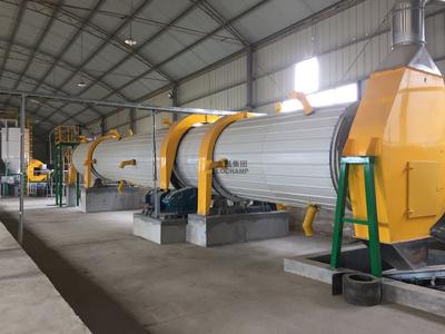 新大牧业年产3万吨有机肥生产线