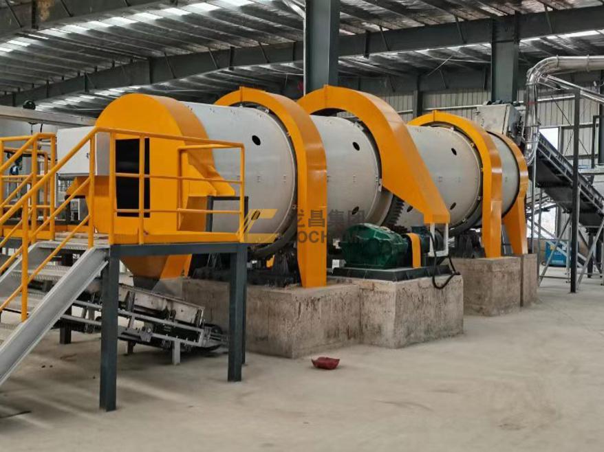 江西万晟年产5万吨有机肥生产线