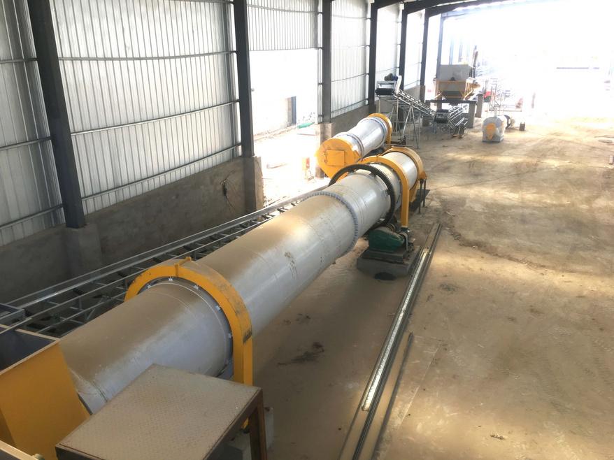 河北源宝生物年产5万吨球状有机肥生产线