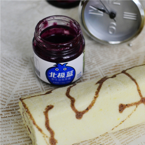 藍莓斑紋面包