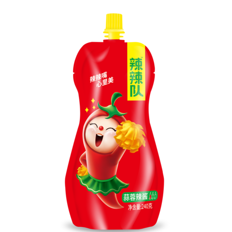 辣辣隊辣醬(蒜蓉辣醬)- 240g