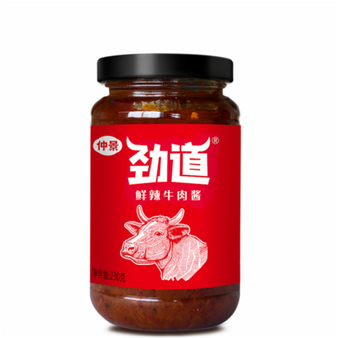 勁道牛肉醬(鮮辣味)- 230g