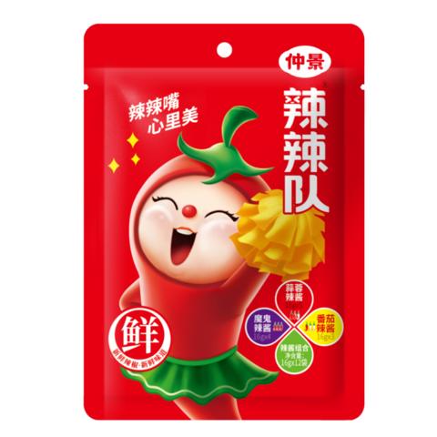 辣辣隊辣醬(組合口味)- 16g*12袋