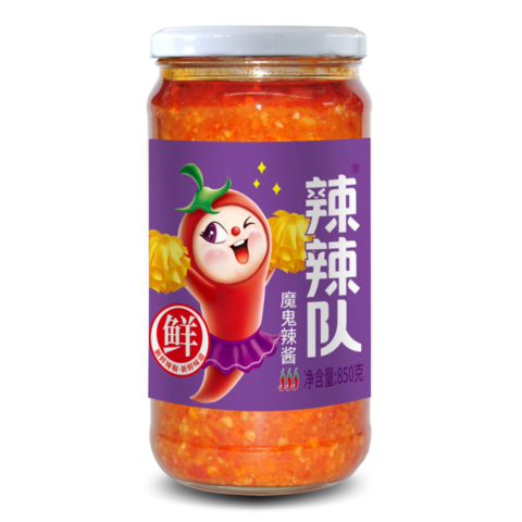 辣辣隊辣醬(魔鬼辣醬)- 850g