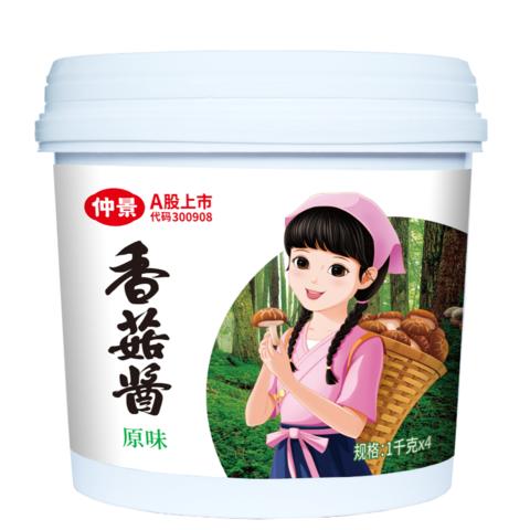 仲景香菇醬(原味)-1千克x4袋