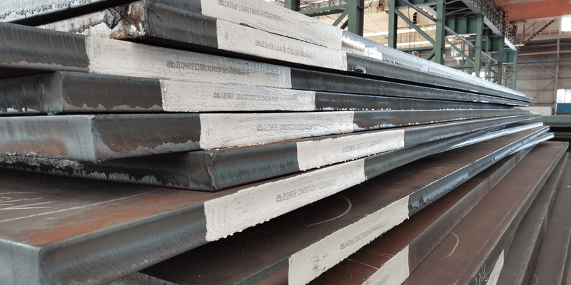 GB T24186 NM500 high strength abrasion resistant steel plates for construction machine