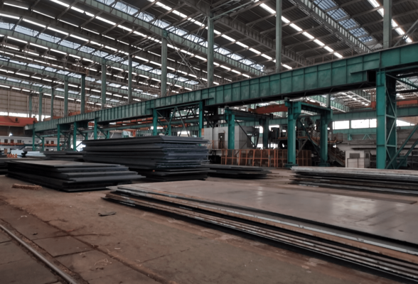 ABS Grade FQ70 Shipbuilding Steel Plate