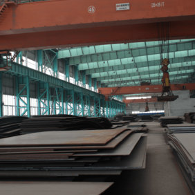 DIN17102 StE255 Carbon and Low-alloy High-strength Steel Plate