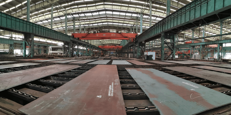 DIN17102 TStE380 Carbon and Low-alloy High-strength Steel Plate