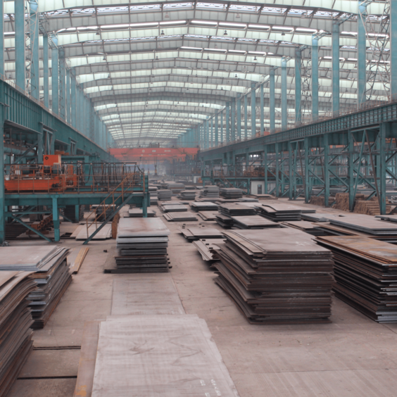 China GB/T16270 Q550E Carbon and Low-alloy High-strength Steel Plate
