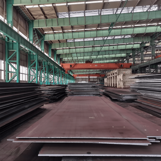 DIN17102 WStE355 Carbon and Low-alloy High-strength Steel Plate