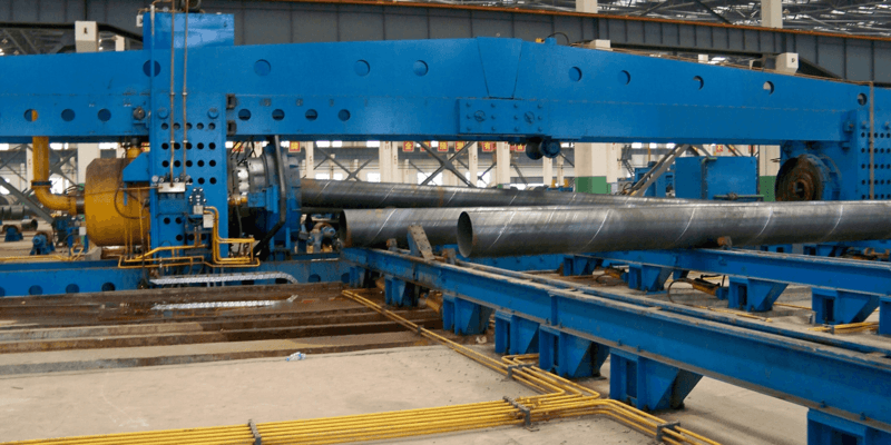 DIN 17100 St52-3 SSAW pipe