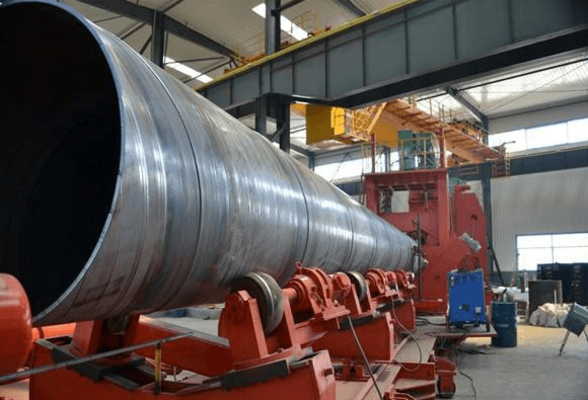 DIN 17100 St52-3 LSAW pipe