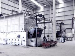 新疆警官学校10.5MW SZL系列燃煤热水锅炉项目