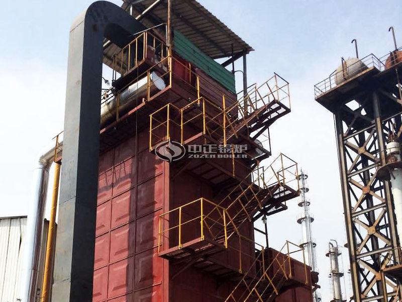 2000万大卡YQL系列燃气立式导热油锅炉项目(河北锐鑫)
