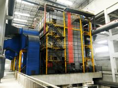 沈阳第三热力91MW、70MW DHL系列角管式热水锅炉项目