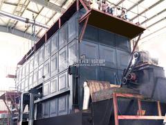 森麒麟轮胎20吨SZL系列生物质锅炉项目