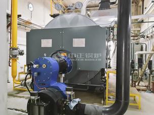 常州滆湖饲料1吨WNS系列冷凝式燃气锅炉项目