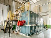 新远东电缆6吨SZS系列冷凝式燃气锅炉项目