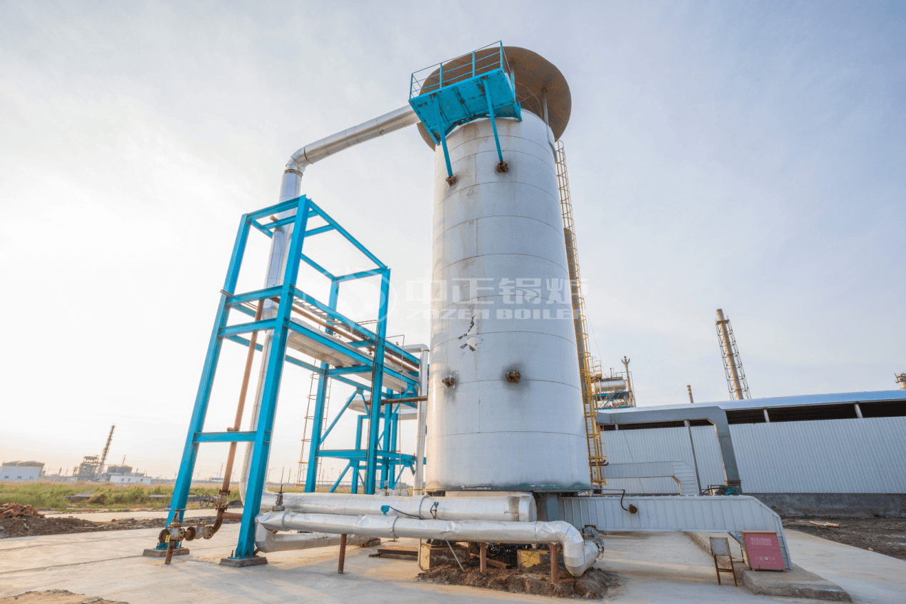 红海化工1500万大卡YQL系列燃气立式导热油锅炉项目