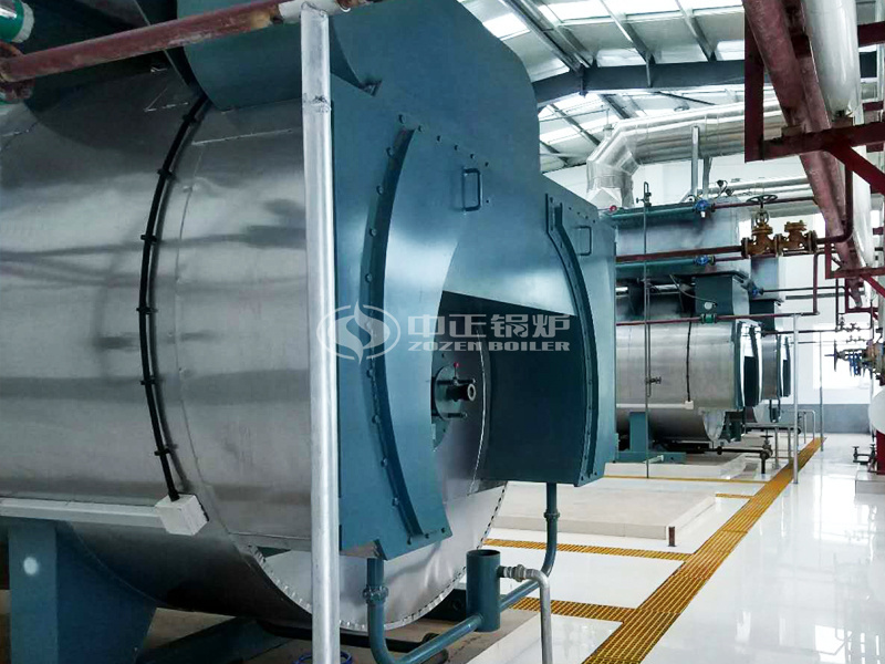 15吨WNS系列冷凝式燃气锅炉项目 (蒙牛集团)