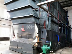 永友粮油15吨SZL系列生物质锅炉项目