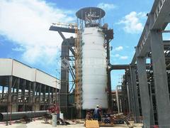 1800万大卡YQL系列导热油锅炉项目 (山东广悦化工)