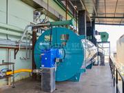 300万大卡YQW系列导热油锅炉项目(浙江宝纺印染)