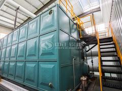 20吨SZS冷凝式燃气锅炉项目(保定市富民纸业)