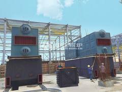 15吨SZL系列生物质锅炉项目(巴布亚新几内亚)