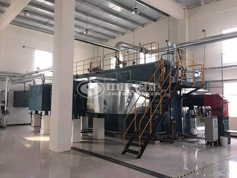 20吨SZS冷凝式燃气蒸汽锅炉项目(克明面业)