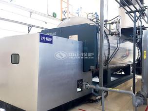 国药集团10吨WNS系列燃气锅炉项目