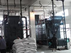 武汉俊珲物业10吨DZL系列生物质锅炉项目