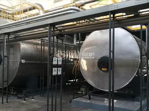 日照滨海石油化工120万大卡YYW系列导热油锅炉项目
