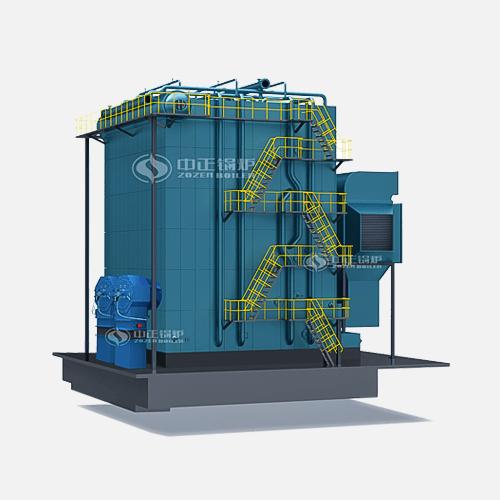 DHS系列中温中压燃油/燃气蒸汽锅炉高清大图