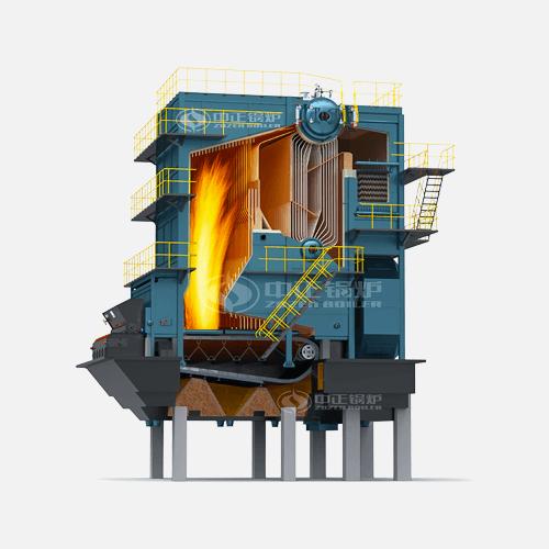 SHL系列生物质散装链条炉排蒸汽锅炉高清大图