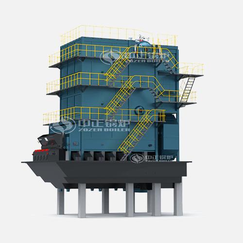 SHL系列散装链条炉排蒸汽锅炉高清大图