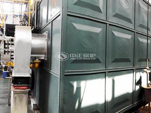 现代牧业25吨SZS系列冷凝式燃气锅炉项目