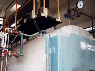 包头市英杰化工2吨WNS系列冷凝式燃气蒸汽锅炉项目