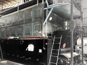 江西泰明6吨SZL系列燃煤蒸汽锅炉项目
