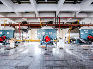天津济丰包装纸业6吨WNS系列冷凝式燃气蒸汽锅炉项目