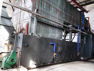 完达山乳业20吨SZL系列燃煤蒸汽锅炉项目