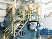 上上电缆6-10吨SZS系列冷凝式燃气锅炉项目