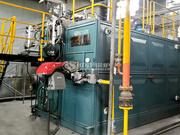 创奇电缆2吨SZS系列冷凝式燃气锅炉项目