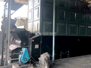 新安泰橡胶20吨SZL系列燃煤蒸汽锅炉项目