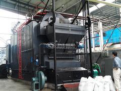 家和制药4吨DZL生物质蒸汽锅炉项目