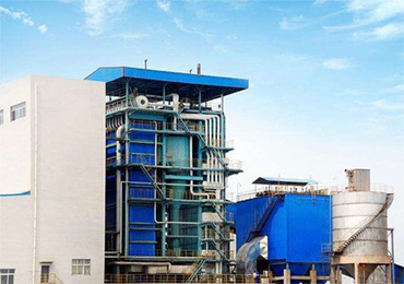 100 tph coal-fired steam boiler for paper industry in Sumatra