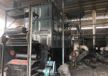 10 tph SZL coal-fired steam boiler for cigarette factory