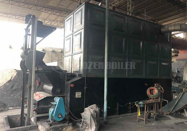 20 tph SZL coal-fired steam boiler for rubber industry