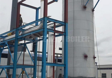 17.5 MW YQL thermal oil heater for chemical factory